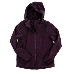 LULULEMON Women's Zip Up Purple Sweater Jacket 8
